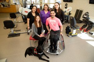 adaptive sports & fitness team shot